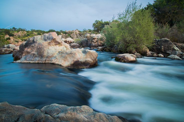 Stanislaus River at Knights Ferry, CA