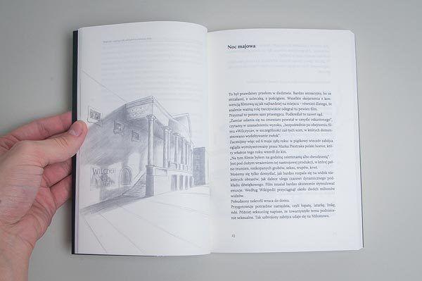 """""""Martwe ciała"""" - ilustracja z wnętrza książki."""
