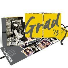 Graduation Announcements — Make Your Mark Ribbon Booklet $3.16ea/72qty