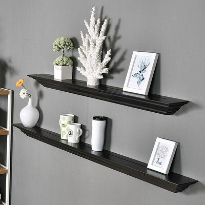 Corona Crown Molding 2 Piece Floating Shelf Set