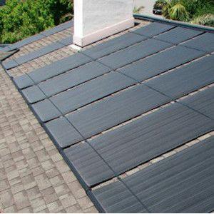 Ideale doe-het-zelf zonnecollector voor GRATIS verwarming van uw zwembad. Hoogwaardige kwaliteit EPDM
