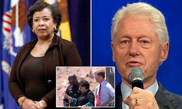 Attorney General is SUED to come clean on secret meeting with Bill Clinton | Daily Mail Online