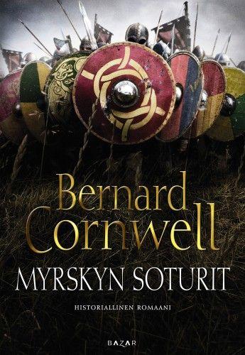 Bernard Cornwell: Myrskyn soturit  Kuningas Edwardin sekä hänen sisarensa Aethelflaedin johtamissa kuningaskunnissa vallitsee hauras rauha. Suuri soturi Uhtred puolestaan valvoo pohjoisen rauhaa Chesterin linnoituskaupungista käsin. Mutta kukaan heistä ei osaa varautua myrskyyn, joka lähestyy uhkaavasti. Pelottoman taistelijan ja armottoman johtajan, viikinkisoturi Ragnall Iversonin joukot ovat yhdistämässä voimiaan sekä irlantilaisten että northumbrialaisten kanssa