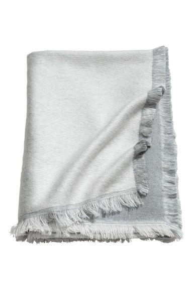 Soft blanket - Grey - Home All   H&M GB 1