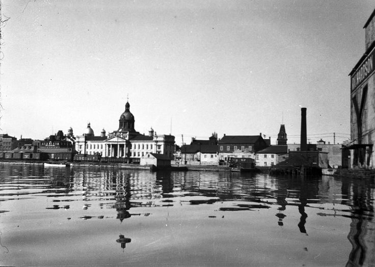 City Hall and waterfront 1920s