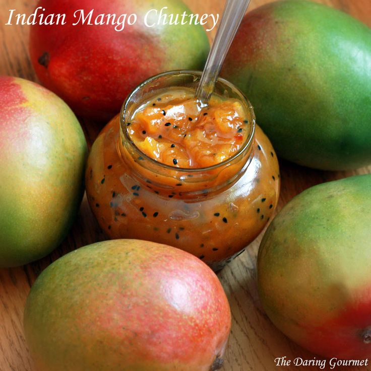 homemade Indian mango chutney recipe canning easy authentic traditional