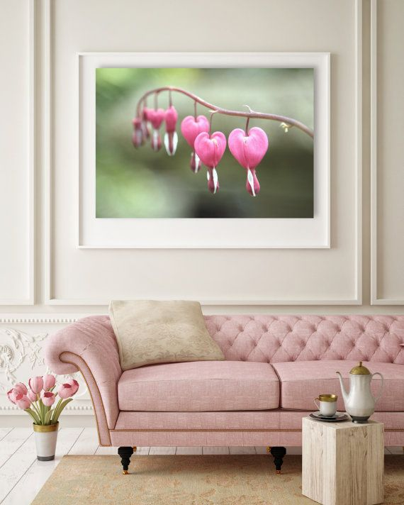 Love photo photography print love hearts, dicentra, bleeding heart, flower, flowers, garden, botanical art,  by StrawHouseArt on Etsy