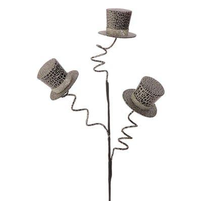 raz halloween top hat spray - Raz Halloween Decorations