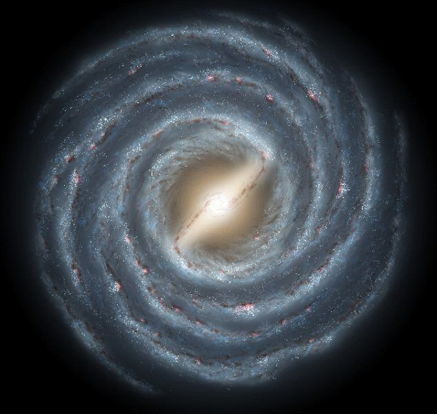 Si estamos en su interior y no podemos verla desde lejos... ¿Cómo sabemos cuál es el diámetro de la Vía Láctea? #astronomia #ciencia
