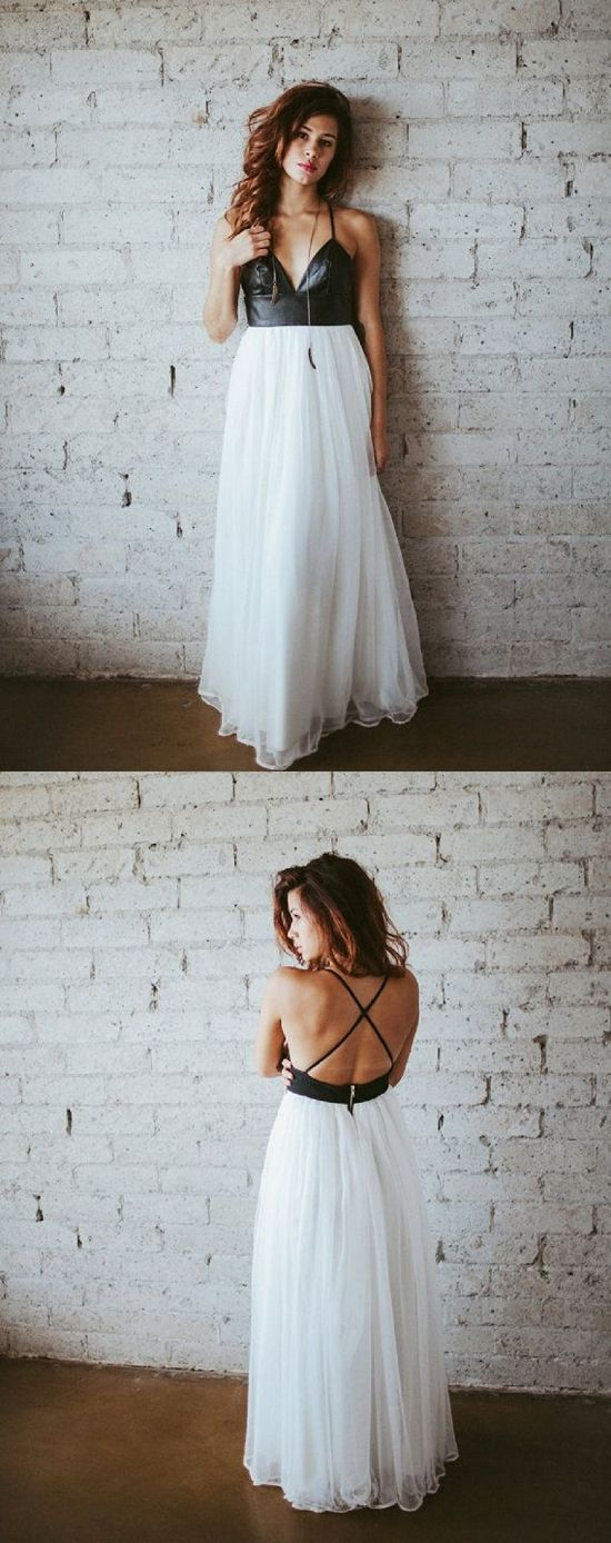 Change out the leather but LOVE this style! 15 Alternative Wedding Dresses For Under $1000 #wedding #etsy