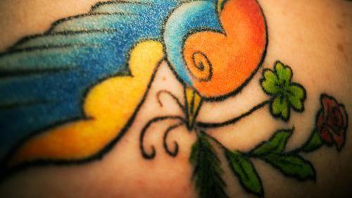 25 Sweet Four Leaf Clover Tattoos
