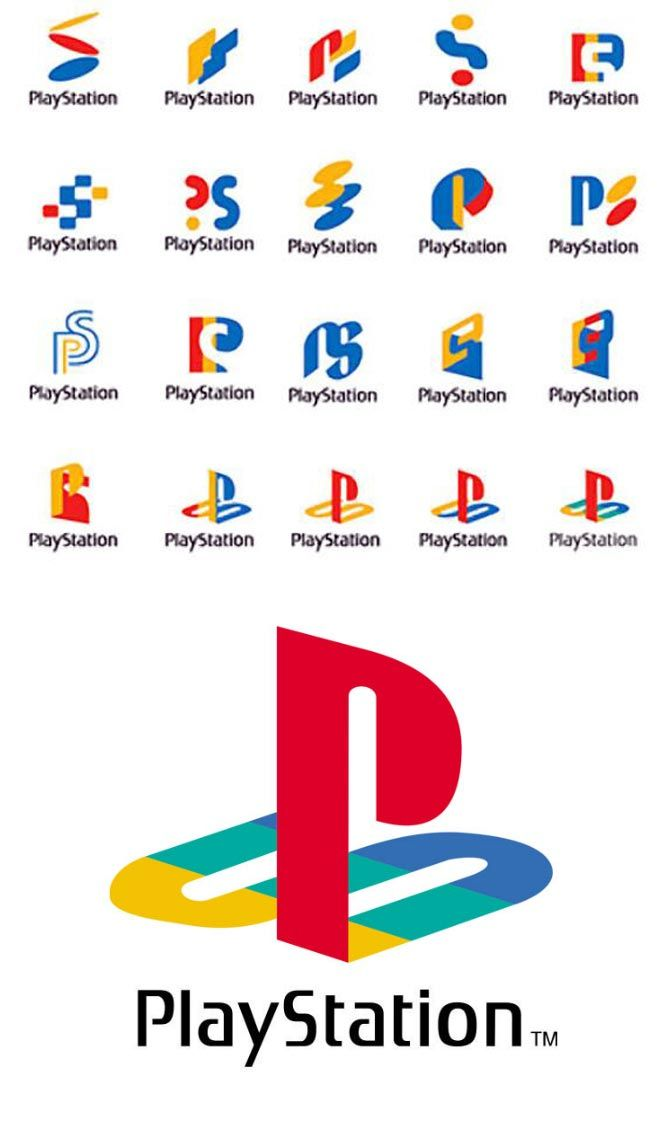 (*** http://BubbleCraze.org - Free family-friendly Android/iPhone game for all ages. ***) L'image du jour : les prototypes du Logo PlayStation