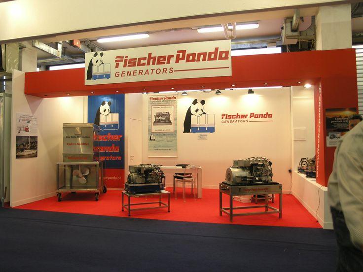 Stand Fischer Panda Generators - Picture gallery