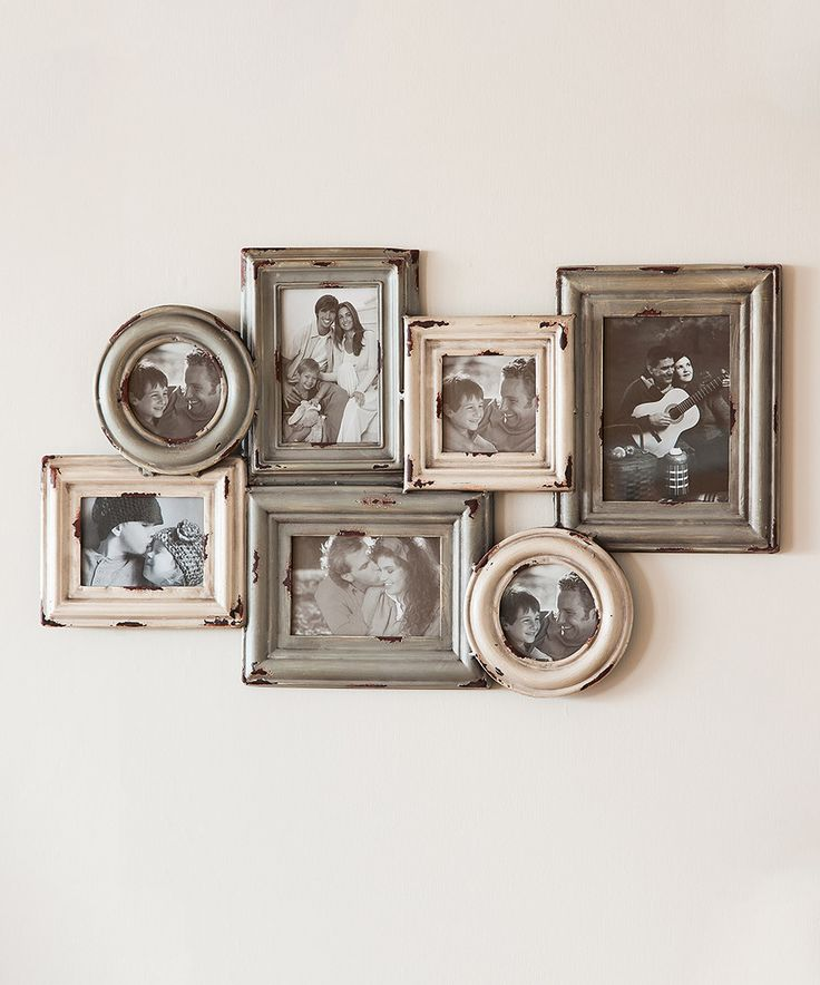 how to make a picture frame collage on wall