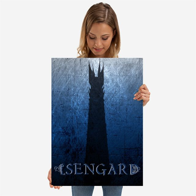 26% OFF all products this weekend  Use code: SPRING26 . Isengard metal print Movie Poster. #movies #movie #cinema #fantasy #books #bookworm #booklovers #dark #towers #blue #ring #art #artist #design #modern #sale #sales #discount #posters #gifts #giftideas #homegifts #39 #wallart #livingroom #decoration #home #homedecor #cool #awesome #giftsforhim #giftsforher #displate #fandom
