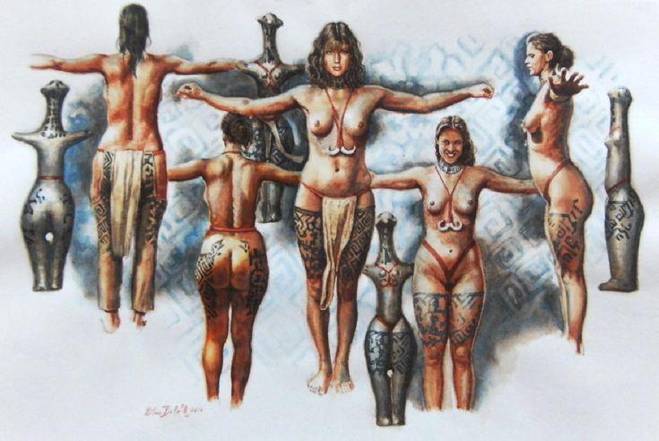 El+kell+felejteni+azt+a+sztereotípiát,+mely+szerint+a+neolitikumban+a+nők+nem+vándoroltak,+helyben+gyűjtögettek+és+őrizték+a+ház+tűzhelyét.+Kiderült,+hogy+a+férfiakkal+ellentétben+ők+vándoroltak+és+ismeretekkel+gazdagították+a+közösségüket.  Ezt+mutatja+ki+egy+elemzés,…