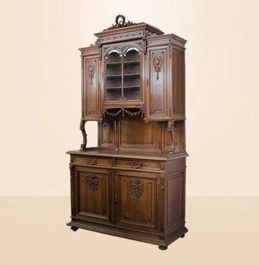 «BersoАнтик» - Антикварный шкаф-буфет Людовик XVI