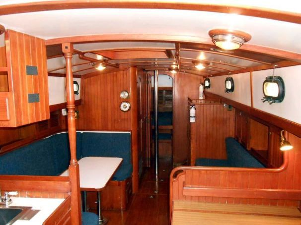 1979 Tayana Staysail Ketch Voile Bateau à Vendre - www.yachtworld.fr