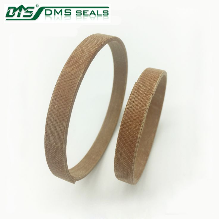 wood color Phenolic resin hard wear ring for seals