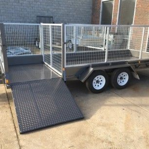16 ×6 Tandem Lawn Mower Trailer, 2000kg ATM Trailers, Cage | U Beaut TrailersWe build and repair 16 x 6 Tandem lawn mower Trailers, Tandem Trailer with jockey wheel ,40mm solid axles , Winch fitted, 14 inch Light truck tyres. For more data you can visit our destinations http://ubeauttrailers.com.au/product/16x6-lawn-mowing-tandem-trailer-cage-trailer-australian-made-ramp/. On the off chance that you have any question you can Contact us: Just Dial 03-9708 2691. box trailers for sale