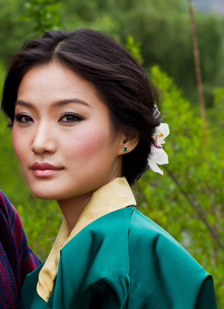 Asiatische Braut machen