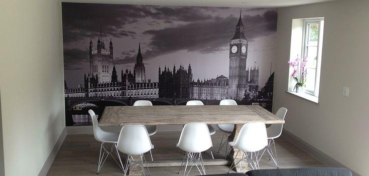 Creative Office Branding using wall graphics from Vinyl Impression, #Office #Wall #Graphics #branding