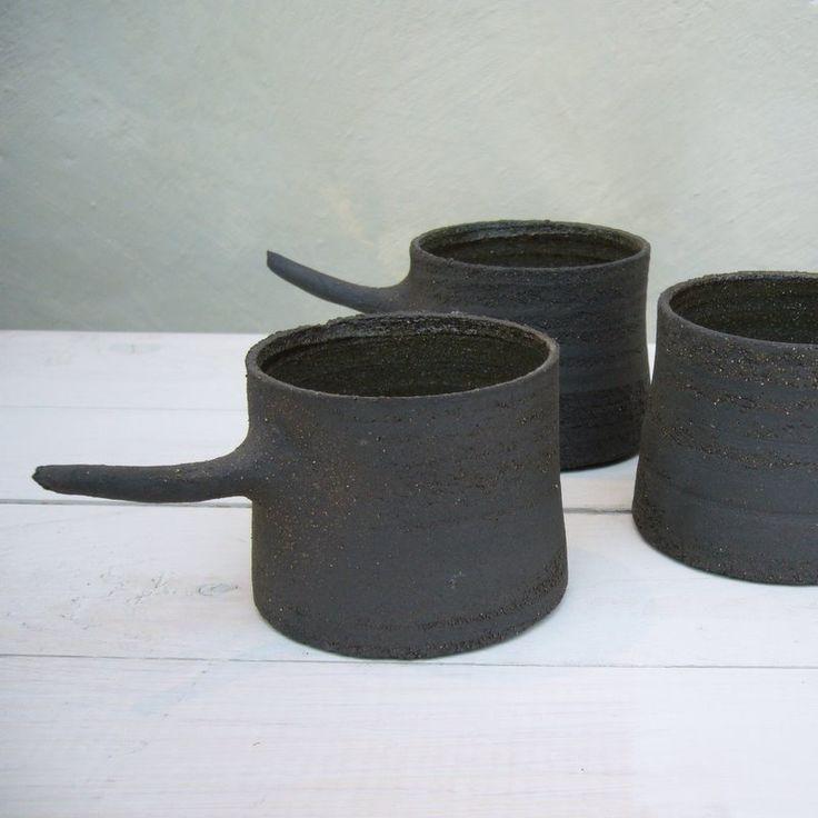 karin eriksson - charcoal devil cups