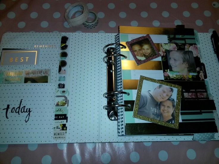 Uiteraard mogen mijn grote liefdes niet missen in mij planner. Kijk nou hoe mooi die Heidi Swapp fotolijstjes staan op de dashboard van mijn planner! #loveheidiswapp #lovemyplanner #mijnlifeplanner