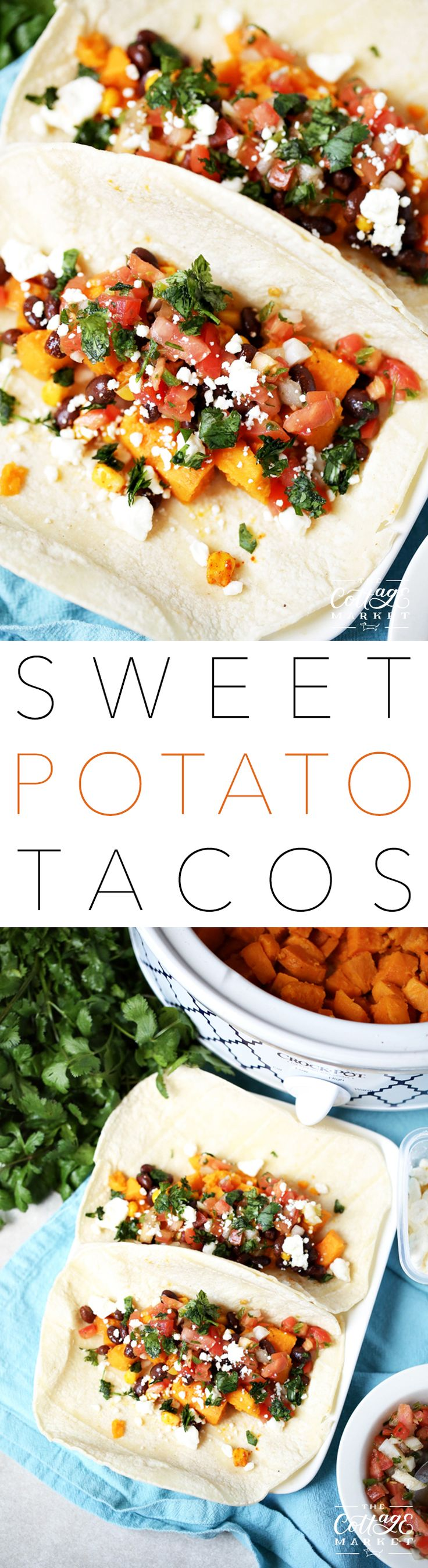 Don't know what to make for Dinner? Want something quick…easy and tasty? Oh and would you like your meal to be healthy and fresh? Well then I do believe that this Slow Cooker Sweet Potato Tacos are for you and your family. Just pop those Sweet Potatoes in the Slow Cooker and they will be …