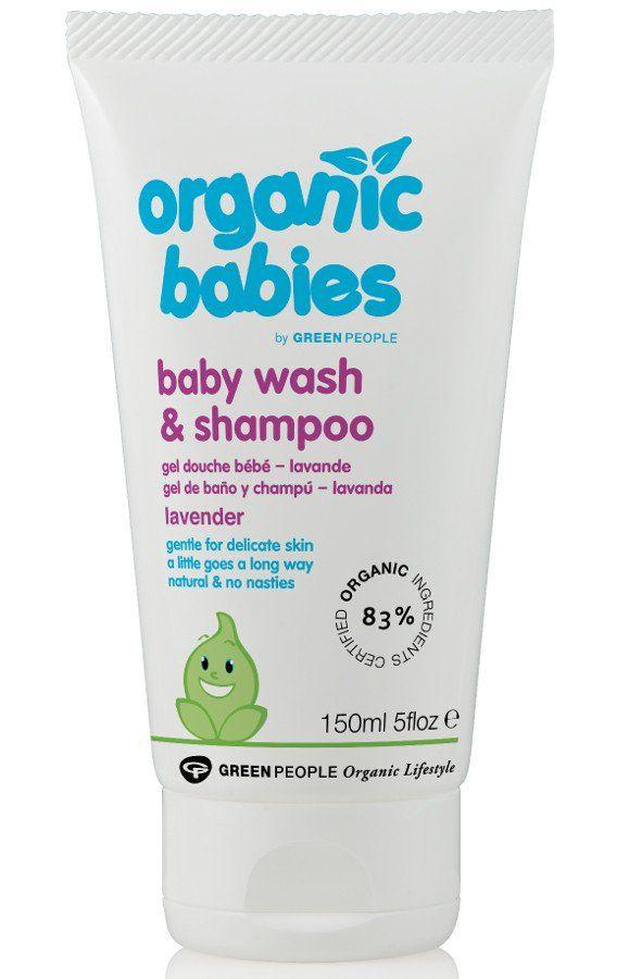 Green People Baby Wash Shampoo Lavender 150ml Hom Lavender Organic Aloe Vera Body Wash