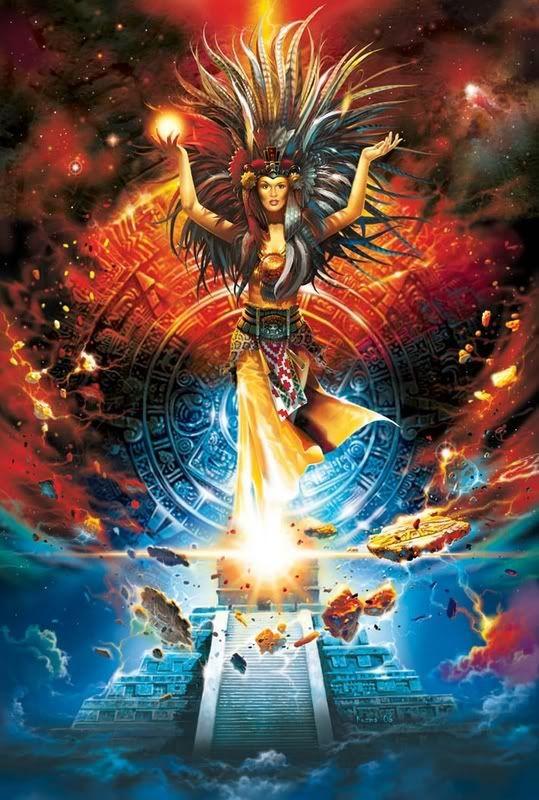 Die Bar des Morphea: aztekische Göttin.