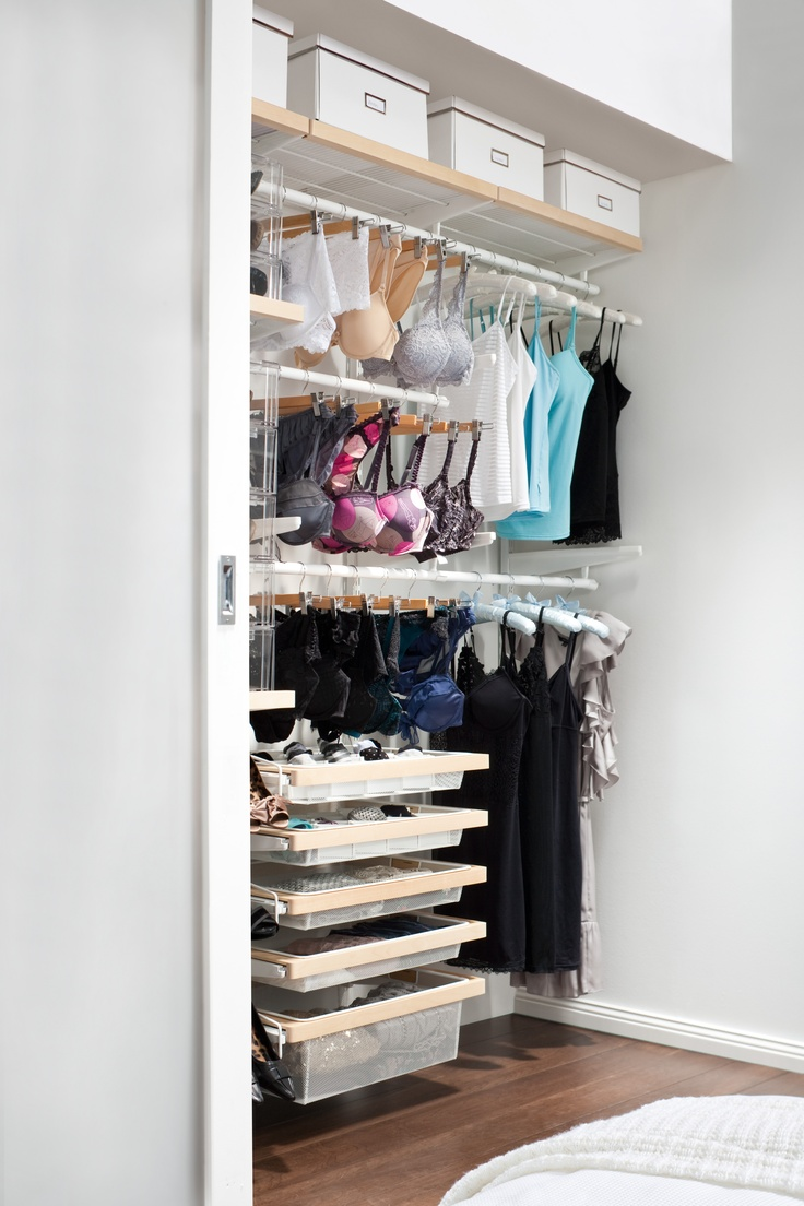 Create your own organised lingerie library with howards for Create your own closet