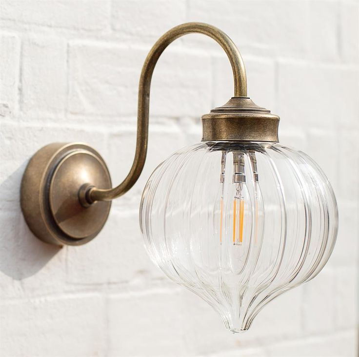 Mia Outdoor Wall Light | Plain/Fluted Glass | Period | Contemporary | Lighting