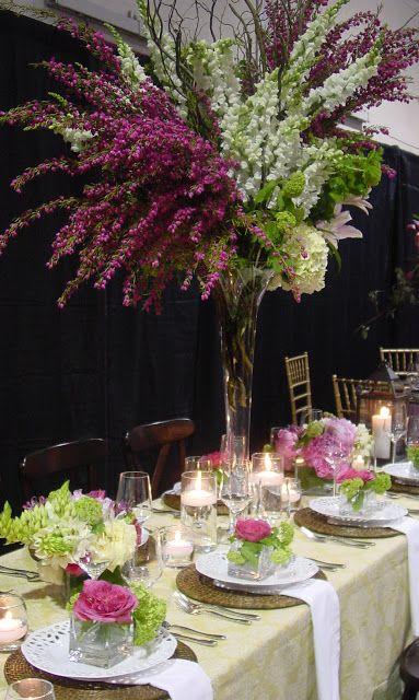 table decor...julie liles floral & event design: