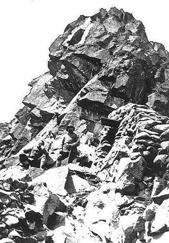 Brigata Cividale sul Monte Busa Alta