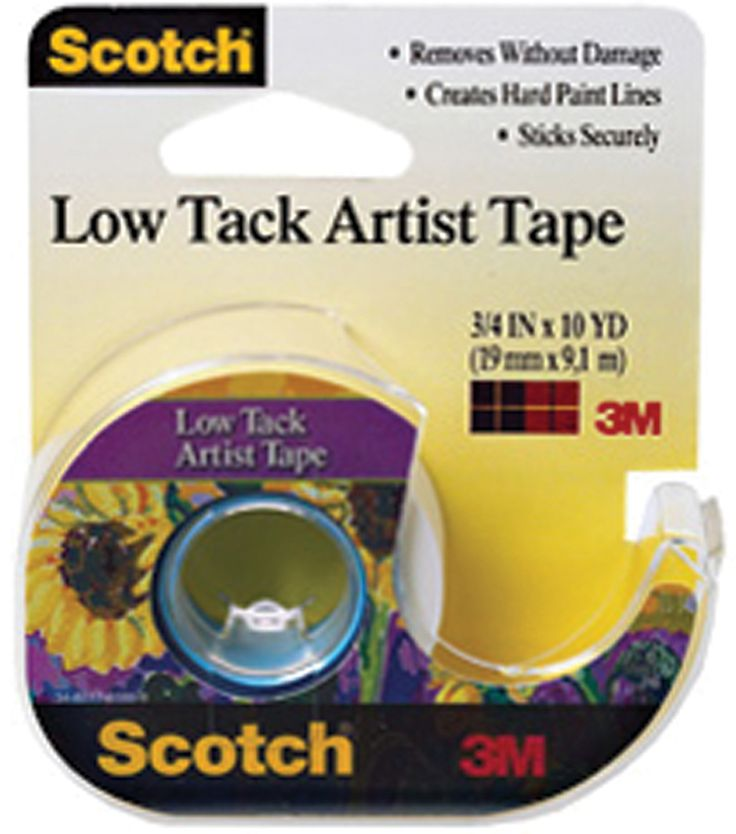 3M Scotch Low Tack Artist Tape