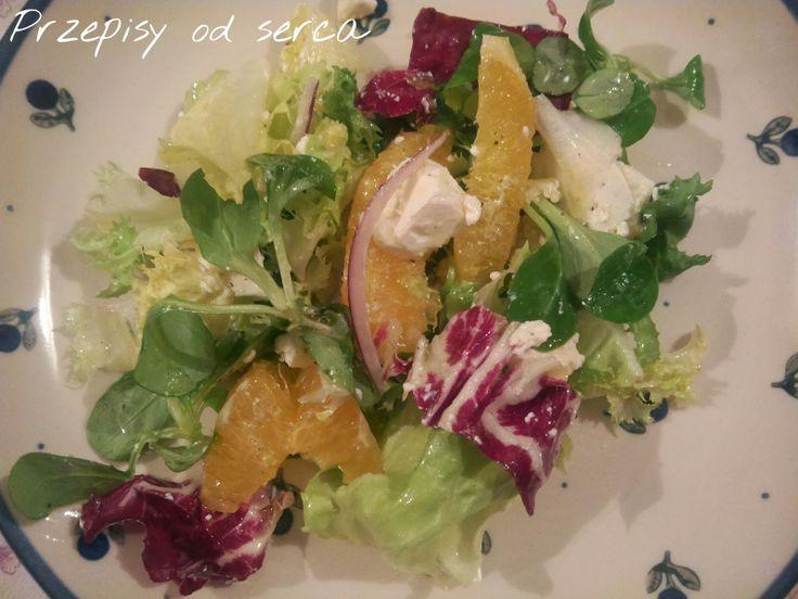 Przepisy od serca: Sałatka z mandarynkami i fetą Clementine and feta salad