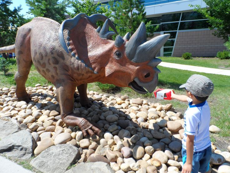 This little guy thinks the dinosaurs at Drumheller would like to snack on the wheat-free Cranberry Oat Raincoast Crisps too!