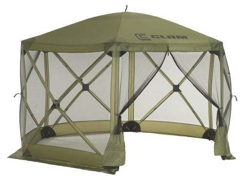Clam 1660 Mag 12 x12 Hub Screen Canopy - Canopies at Hayneedle