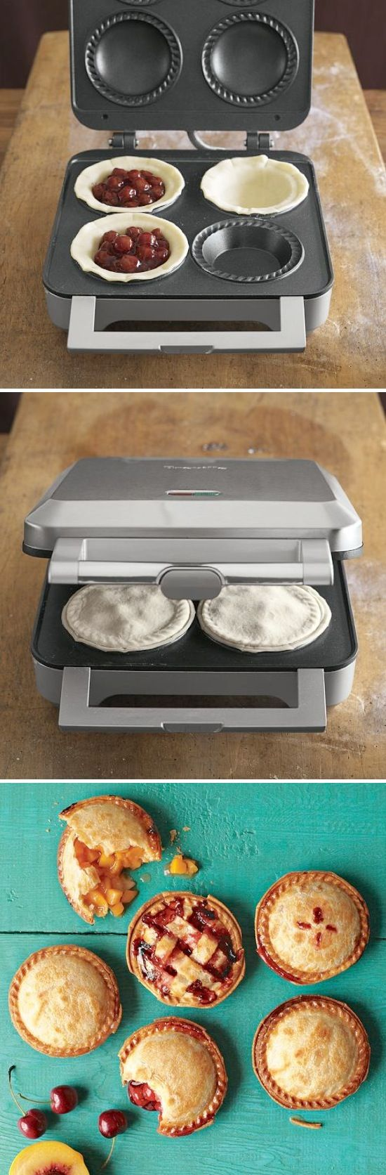 Personal Pie Maker.....hmmm, like i need another kitchen thingie...