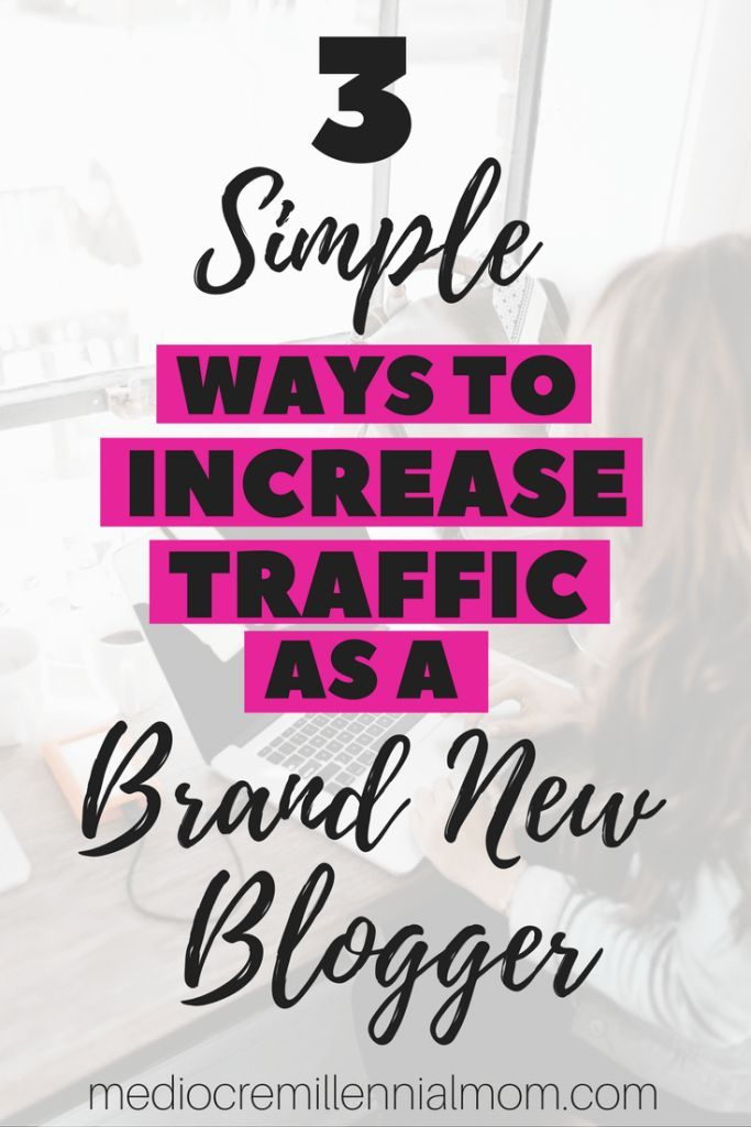 Tips on increasing traffic to your new blog. Ideas on how to get more page views on your website and set your blog up for success.