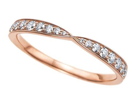tiffany harmony rose gold ring tiffany wedding rings everafterguide - Tiffany Wedding Ring