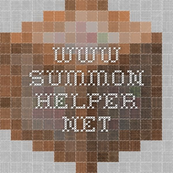 www.summon-helper.net