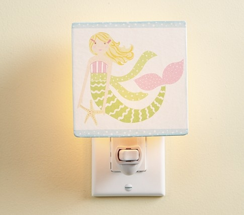 Mermaid Nightlight | Pottery Barn Kids