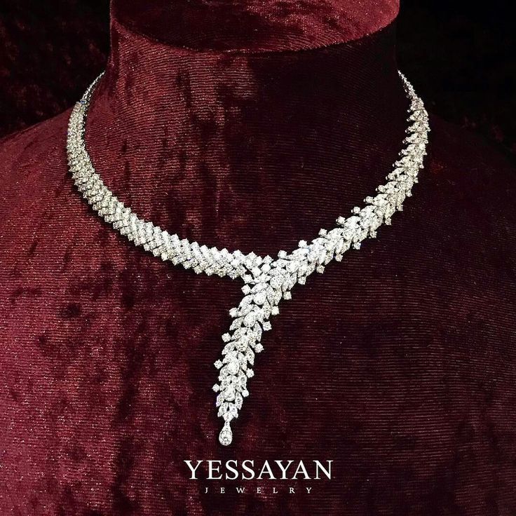 A touch of Elegance around your Neck @Yessayan #Yessayan #Necklace #elegance