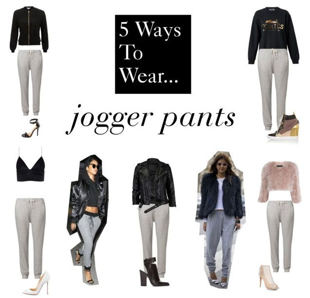 5 Ways to Wear Jogger Pants