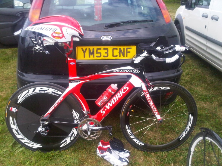 S-Works Tarmac doing first 56:22 for 25 mile TT.