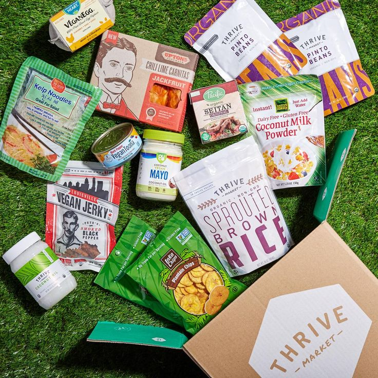 Plant-based meals are more than just salad. Thrive Market's 16-Piece Vegan Starter Kit gives you all the goods from noodles to seitan and more.