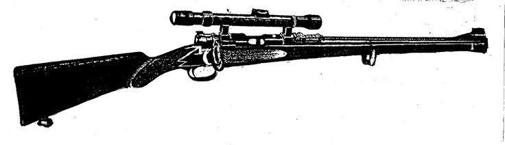 Austrian-made custom .22L.R. carbine. #Guns #Ammo #Books #.22L.R. #Twenty-two  https://www.createspace.com/7184420