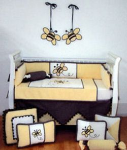 95 Ble Bee Nursery Theme Kids Wall Art Baby